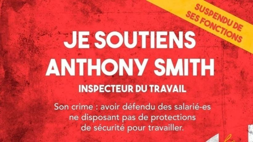 Anthony Smith inspecteur du travail