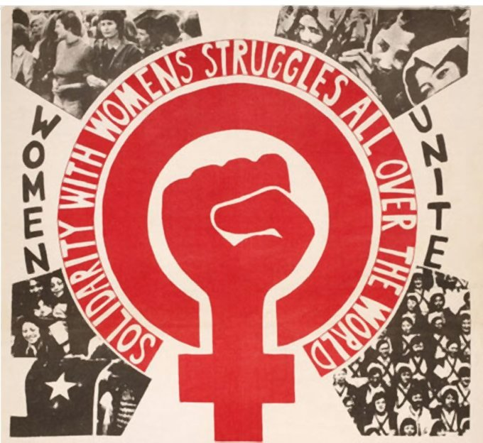 women unite - solidarity with womens struggles all over the world