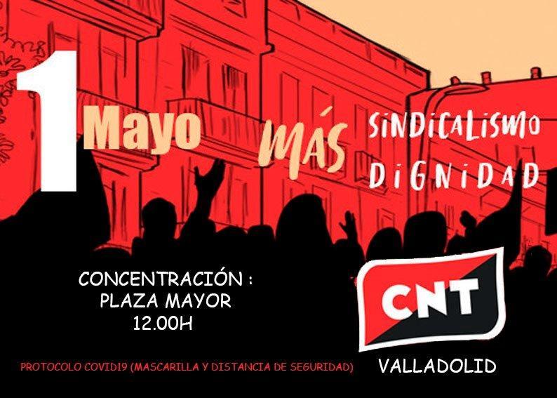 1º de Mayo · Con o sin pandemia, nuestros derechos no se tocan
