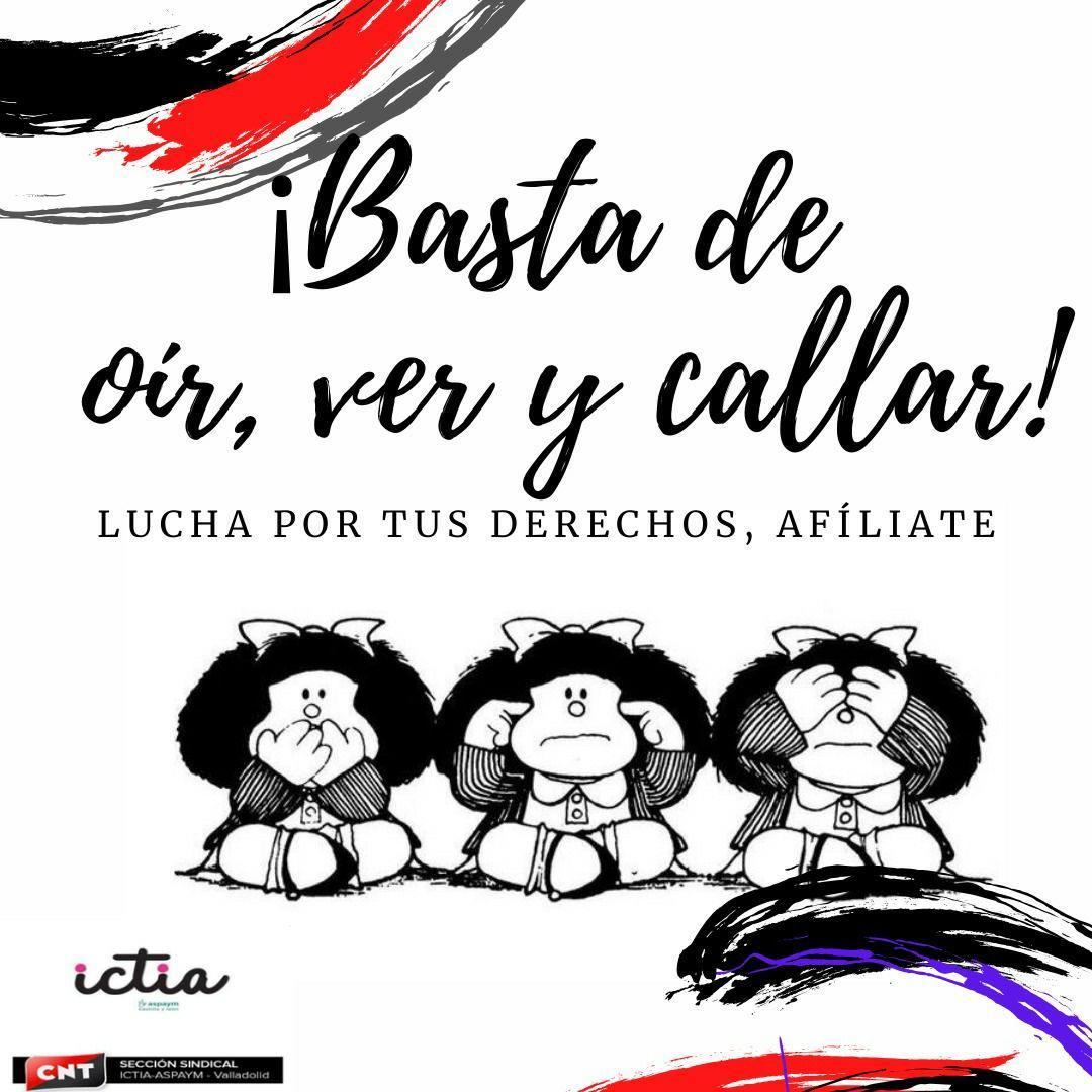 Victoria de la sección sindical de CNT en Ictia