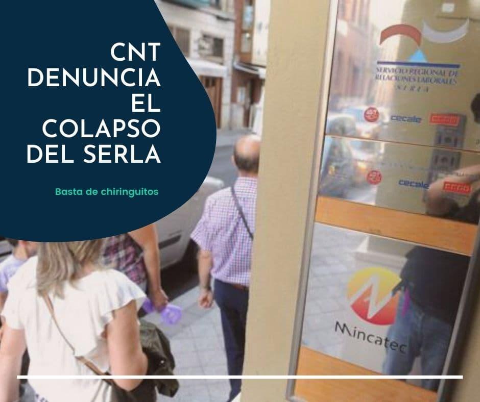 CNT denuncia el colapso del SERLA en Valladolid