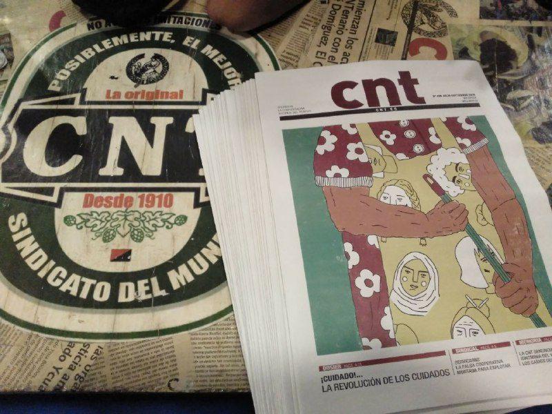 «CNT»: Vuelve el periódico del sindicato