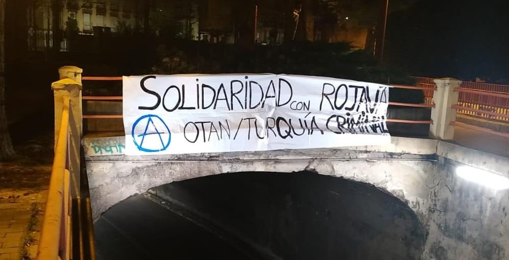 Solidaridad con el pueblo kurdo: No a la invasión turca en Siria