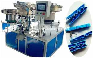 Full Automatic Clothes Peg Assembling Machine