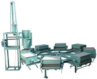 chalk making machine eight moulds electrical driven slurry mixer