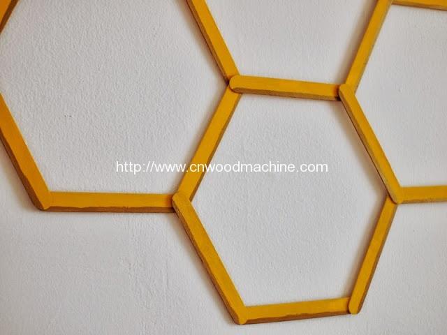 honeycomb popsicle wall art 7