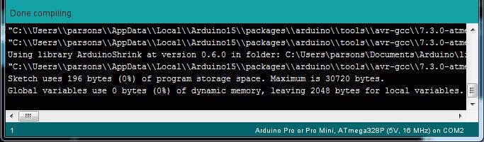 ArduinoShrink