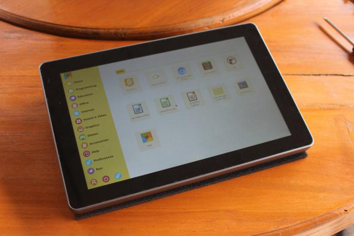 Raspberry Pi 4 Tablet RasPad OS