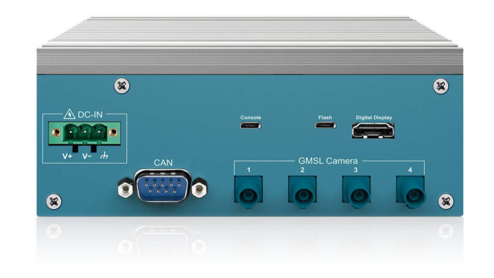 AI Edge Embedded System Fakra Connectors