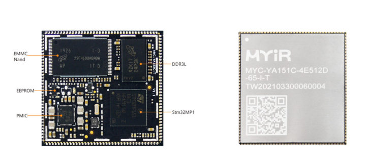 MYC-YA15XC-T CPU Module (delivered with shielding cover