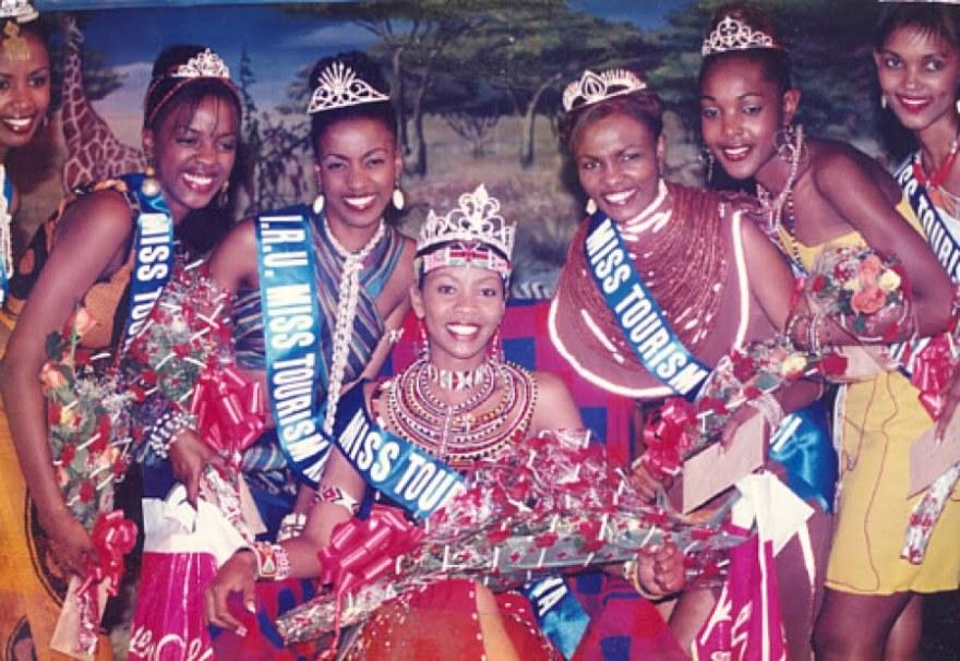 miss tourism kenya. finalist image