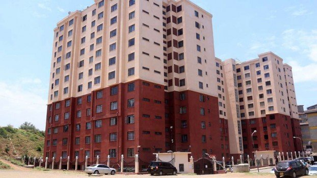 The residential apartment in Nairobi