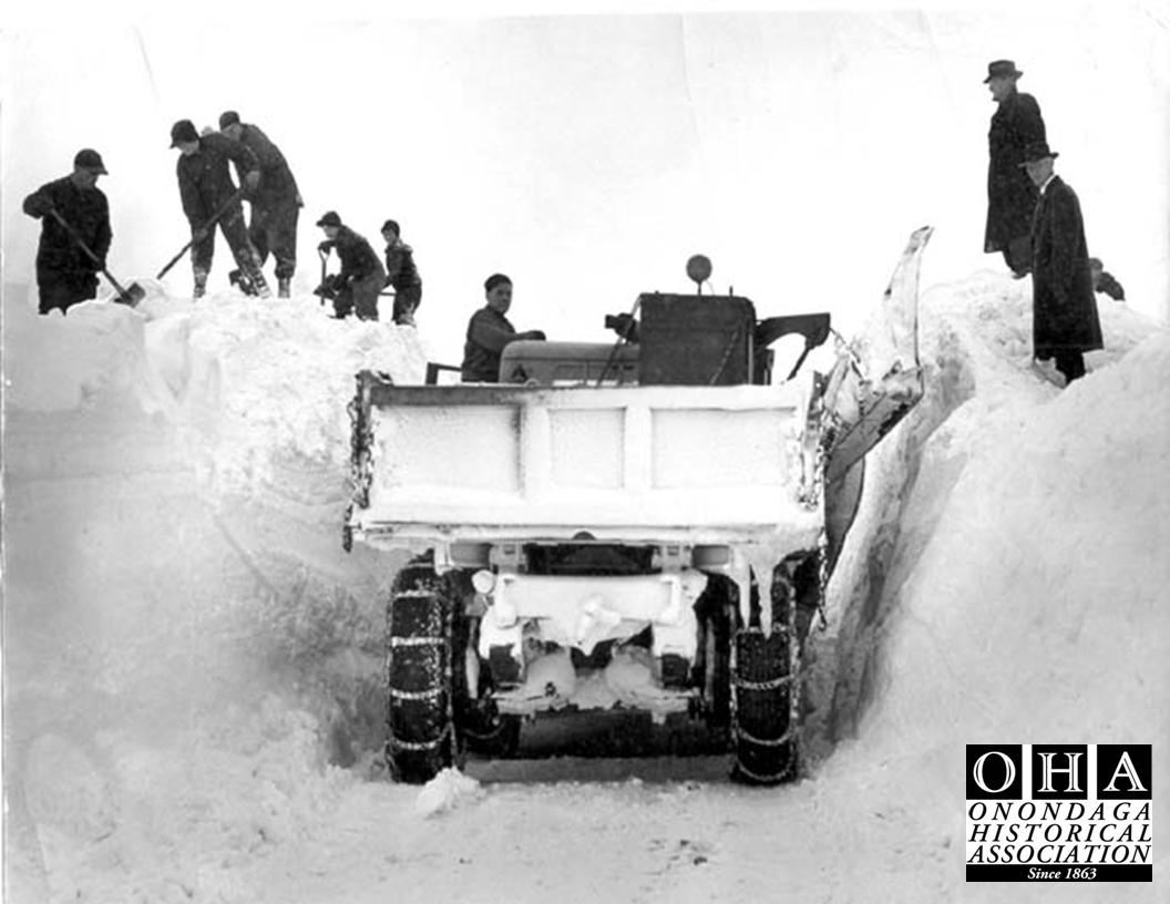 100 Years Of Snow Plows The History Of Syracuse Snow