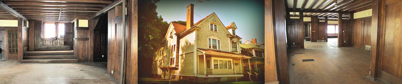 Gustav Stickley House in Syracuse