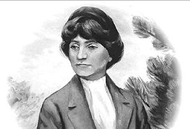 drawing of woman