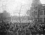 #193: NY State Armory, Spanish-American War Announcement, 1898, Syracuse
