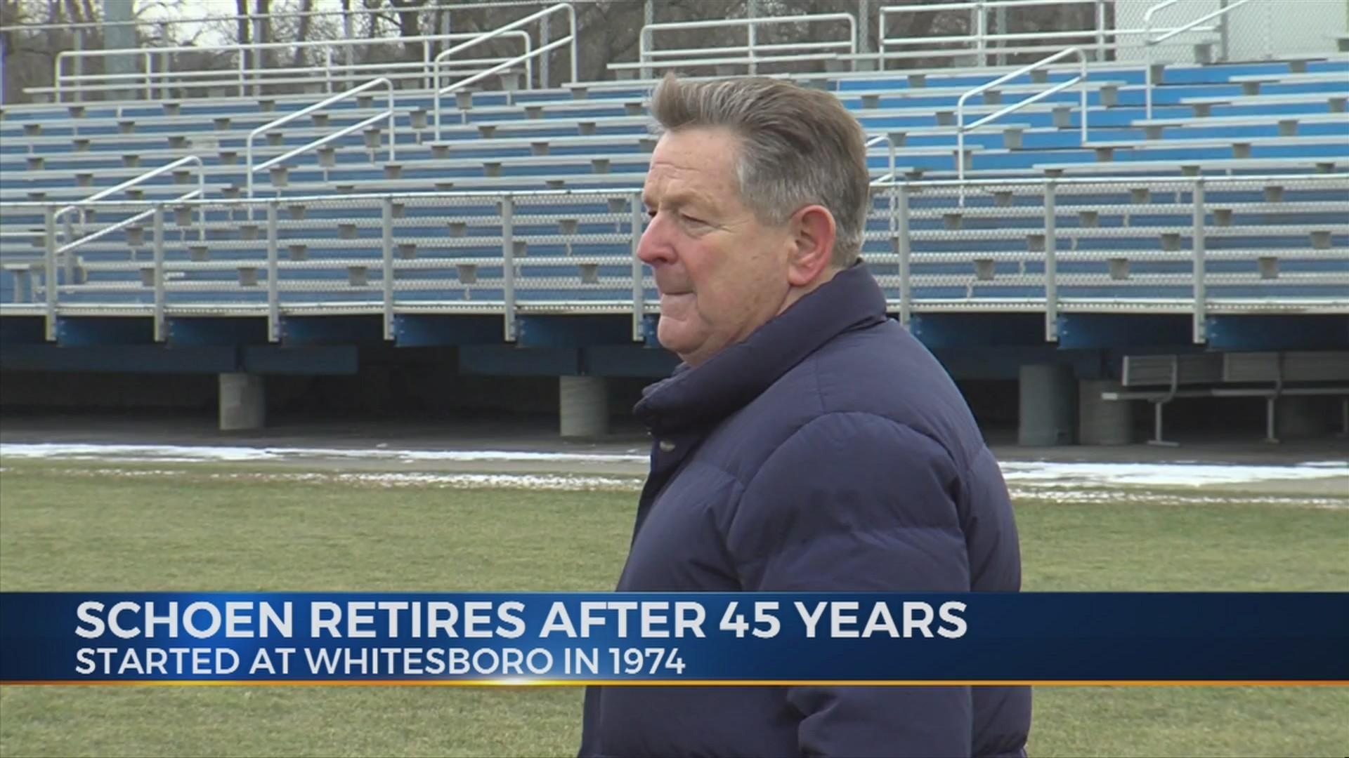 Schoen retires from coaching