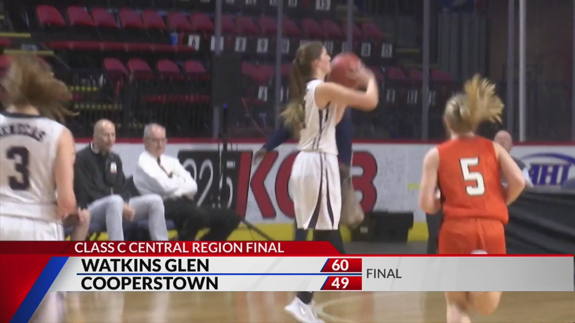 Cooperstown girls fall in state tournament
