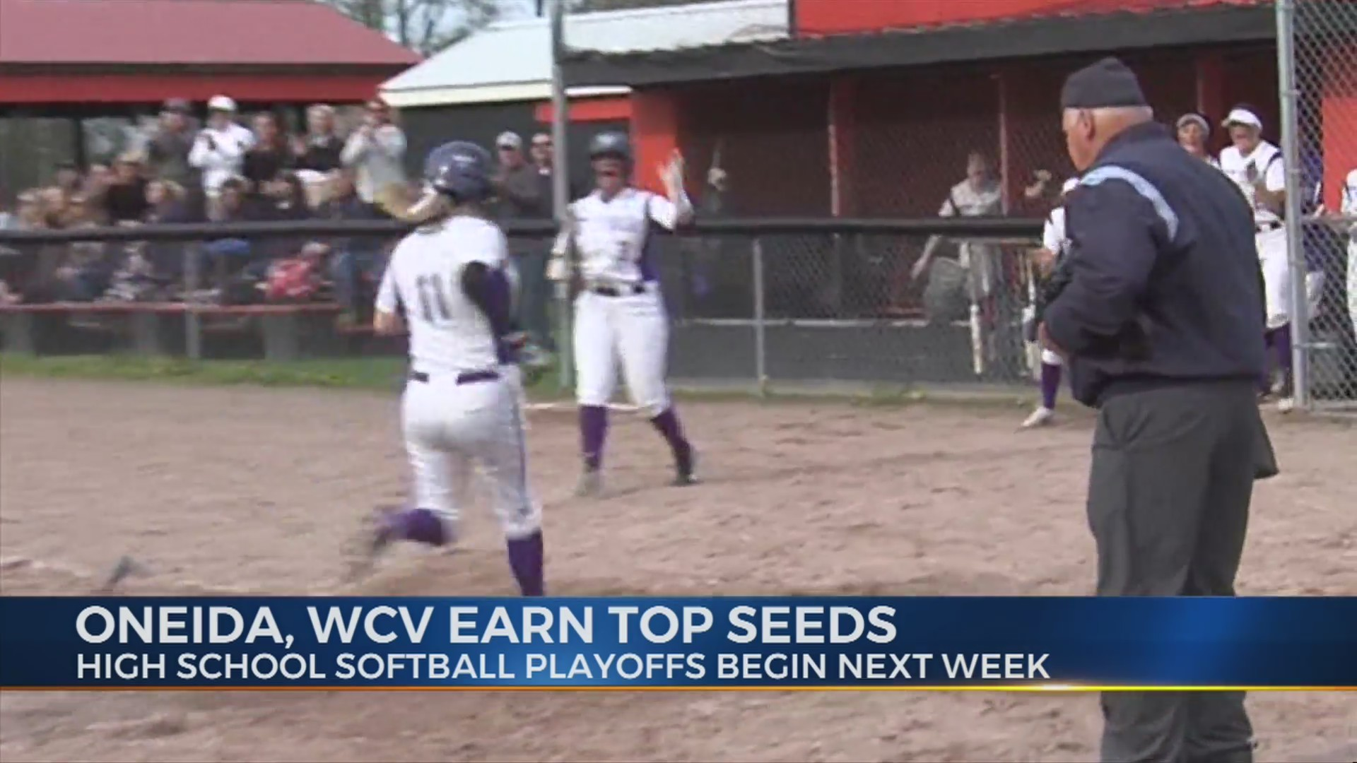 Softball seedings released