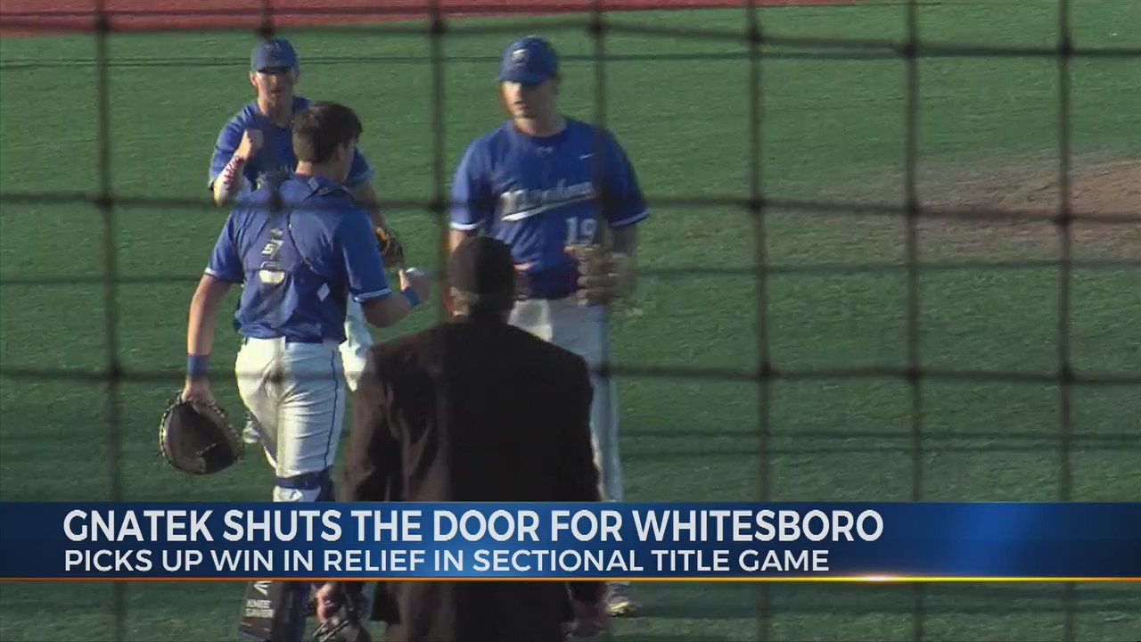 Composure key for Whitesboro's Gnatek
