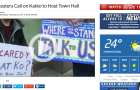 Protesters Call on Katko to Host Town Hall