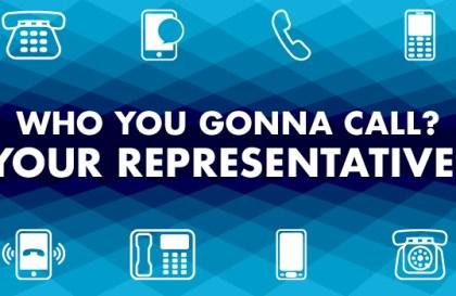 Call Your Representative!
