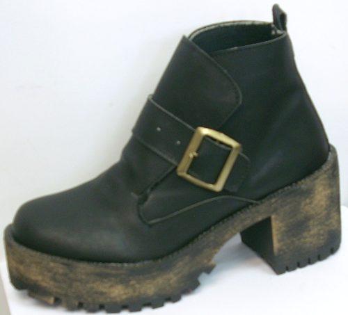 Botas Caña Corta Botinetas Plataforma Calzados Cris » Mayorista de ropa ab7fe037c41