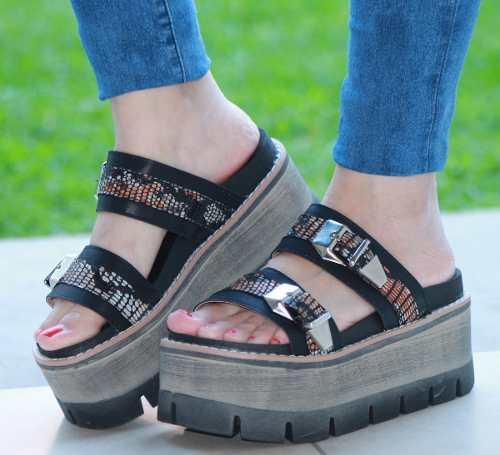 3d25cb13 Sandalias Zapatos Plataforma Alta Mujer Verano Moda 2016 » Mayorista ...