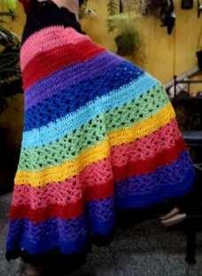 642639209 Pollera Mini-falda De Modal Elastizadas- Talle Especial » Mayorista ...