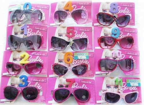 028dff9c8d Barbie Lentes Anteojos De Sol Infantiles Filtro Uv 100% Real ...
