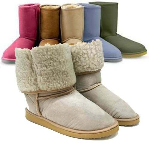 Botas Con Corderito piel Moda Rimini (australiana) Invierno » Mayorista de ropa