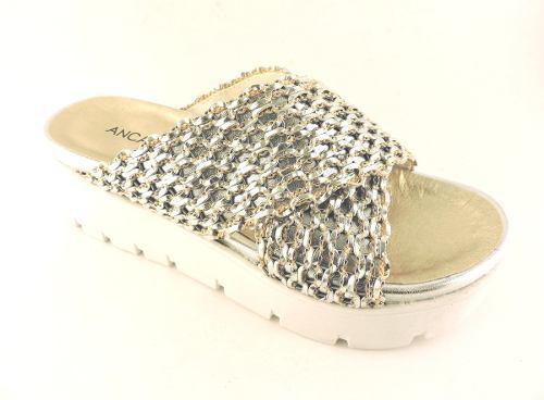 zapatos de separación ade47 58c13 Zuecos Anca Co Cuero Plataforma Goma Zapatos Sandalia Oferta » Mayorista de  ropa