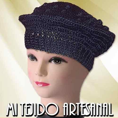 Boinas Y Gorros Tejidos Al Crochet » Mayorista de ropa 1af147e282c