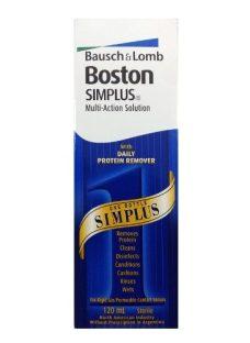 Boston Simplus 120 Solución Líquido Lentes Contacto Rígidas