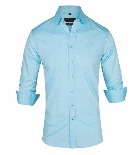 Camisa Entallada Elastizada Importada - Quality Import Usa