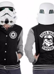 Camperas Universitarias Star Wars Unicas Frisa Invisible