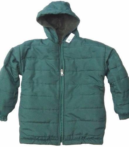 Camperon Colegial Campera Abrigo Azul Roja Bordo Verde Negr