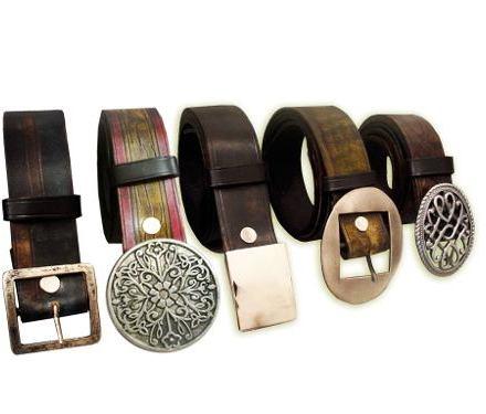 Cinturones En Cuero 100%