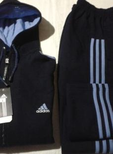 Conjuntos Adidas Pantalon Mas Campera C / Capucha S Al Xxxl