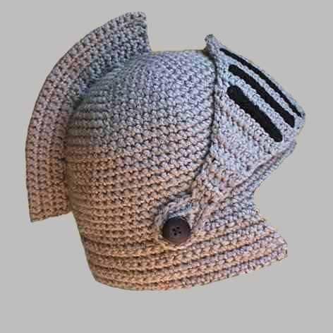 Gorro Tejido Al Crochet Modelo Medieval Mayorista De Ropa