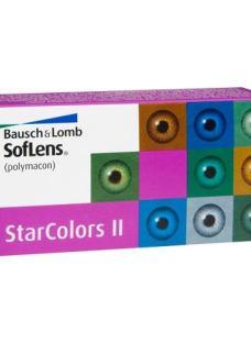 Lentes De Contacto Cosméticas Soflens Star Colors Ii Gris