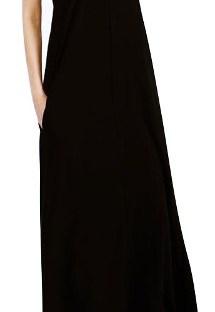 Maxi Vestido Escote V - Estilo Urbana Clothes