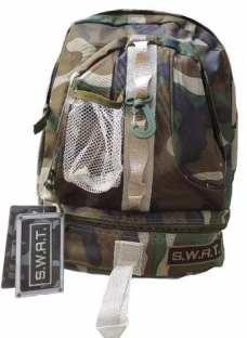 Mochila Swat Tactica Camuflada Policia Militar Policia Envio