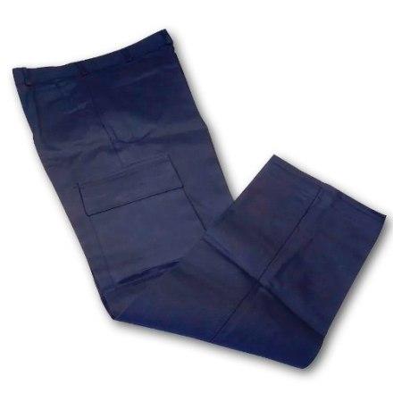 Pantalón Cargo Proinda En Azul Marino Hay Todo Del 38 Al 56