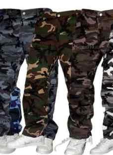 Pantalones Cargos Camuflados Gabarina Desmontable Jeans710