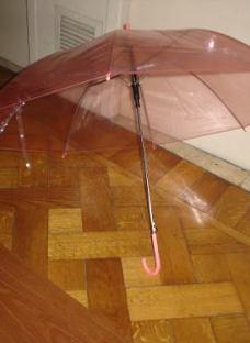 Paraguas Infantil Transparente Colores Barrilete Animal