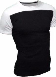 Remera Hombre Entallada/ Slim Fit Algodón Premium