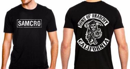 Remera Samcro Sons Of Anarchy Excelente Calidad Somos Local!
