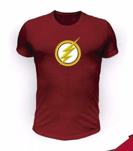 Remeras Flash Serie Superheroes - Gothamds