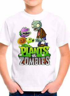 Remeras Manga Corta Plants Vs Zombies